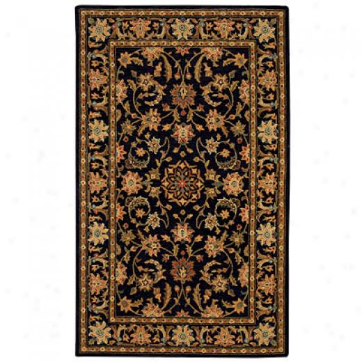 Capel Rugs Jahan 5 X 8 Charcoal Area Rugs