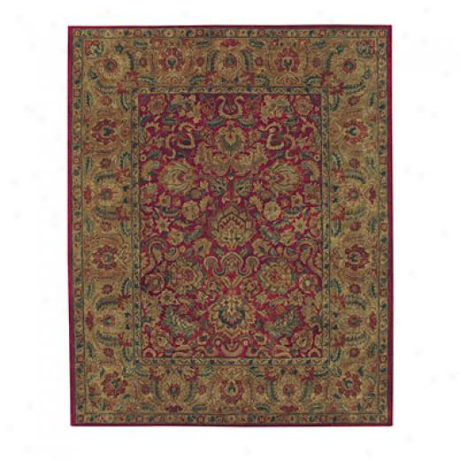 Capel Rugs Kaimuri-bidjar 6 X 9 Red Area Rugs