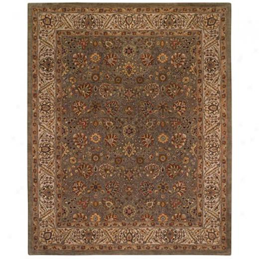Capel Rugs Kaimuri-sultan Lace 4 X 6 Pewter Area Rugs