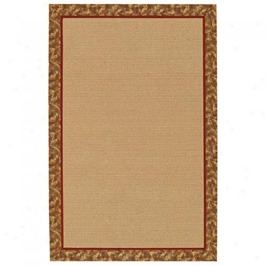 Capel Rugs Lakeview 8 X 11 Henna Area Rugs