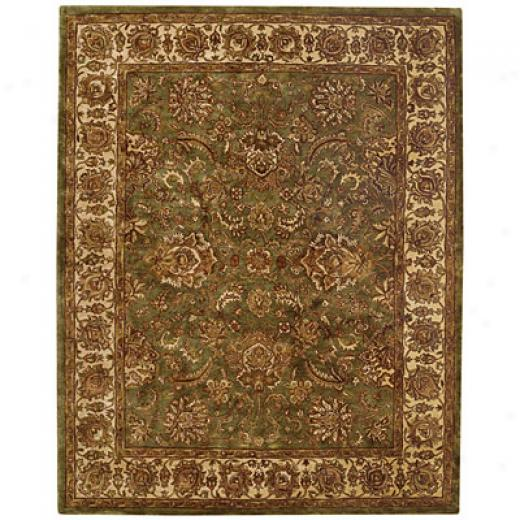 Capel Rugs Mahal-palmette 2x3 Lightgreen Area Rugs