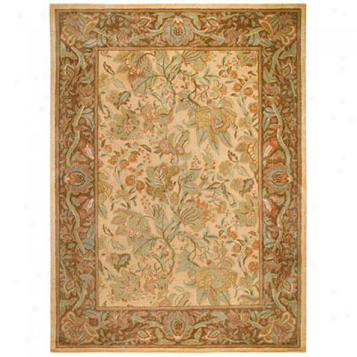 Capel Rugs Marthas Pastels 9x14 Biscuit Area Rugs
