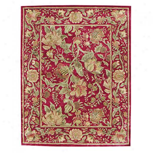 Capel Rugs Marthas Vineyard 3x5 Rouge Area Rugs