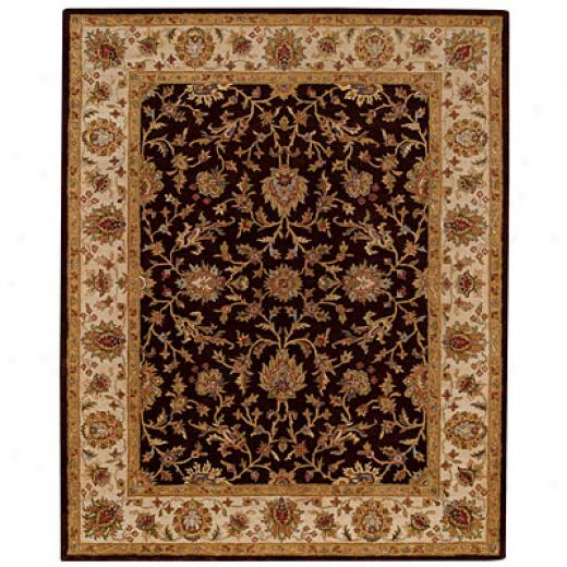 Capel Rugs Mumtaz - Keshan 10x14 Chocolatewheat Area Rugs
