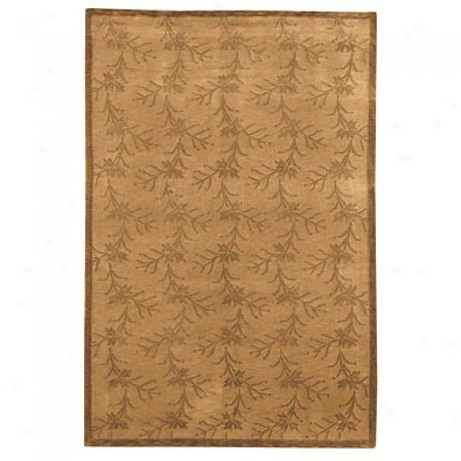 Capel Rugs Nepal Passage 4x6 Henna Area Rugs