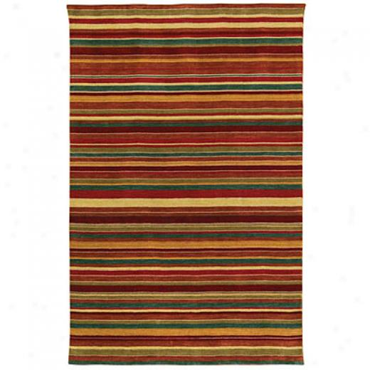 Capel Rugs Rainbows 8 X 11 Ruby Multi Area Rugs
