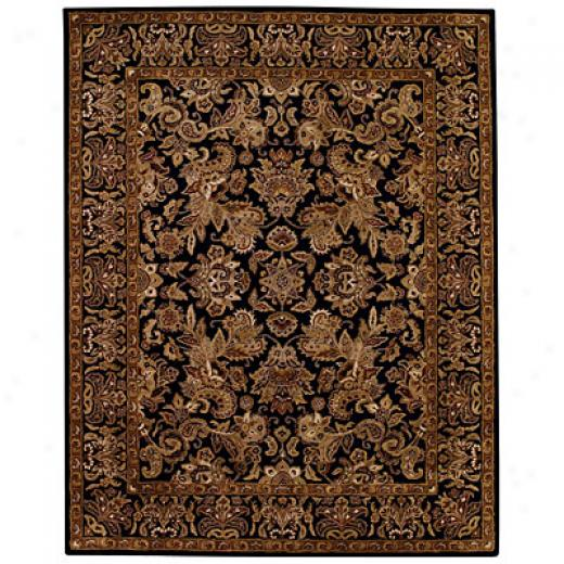 Capel Rugs Regal - Flora 3 X 5 Blackbrown Area Rugs