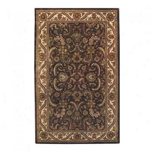 Capel Rugs Regal - Meahed 2 X3  Chocolate Area Rugs