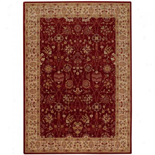 Capel Rugs Satin - Topaz 6 X 8 Ruby Area Rugs