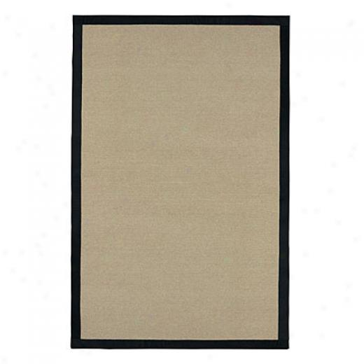 Capel Rugs Sausalito 5 X 8 Ebony Area Rugs