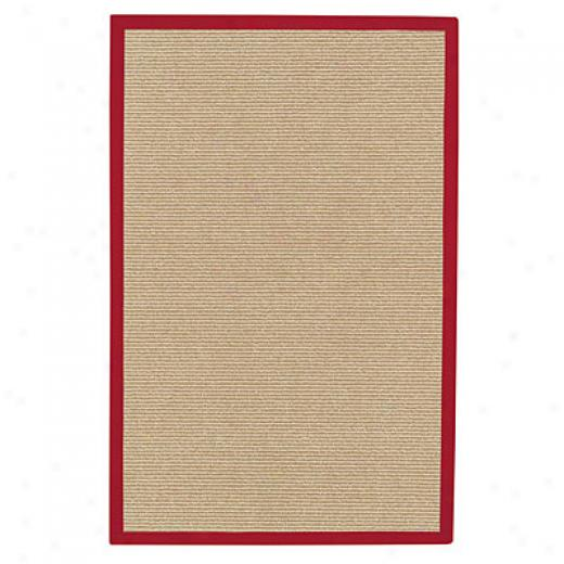 Capel Rugs Sausalito 7 X 9 Flame Area Rugs