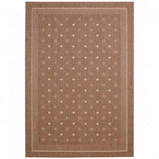 Capel Rugs Seabreeze - Abstract 4 X 6 Cocoacream Area Rugs