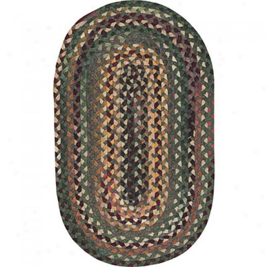 Capel Rugs Silver Creek 3x5 Oval Balsam Area Rugs