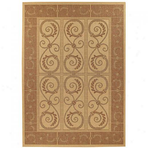 Capel Rugs Solaria - Gate House 8 X 11 Blush Area Rugs