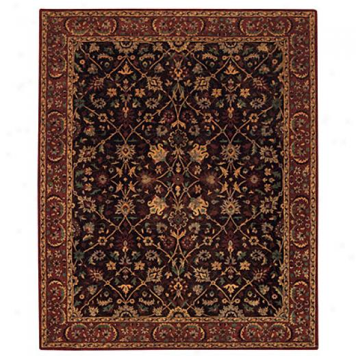 Capel Rugs St. Tropez - Empress 3 X 5 Chocolat Area Rugs