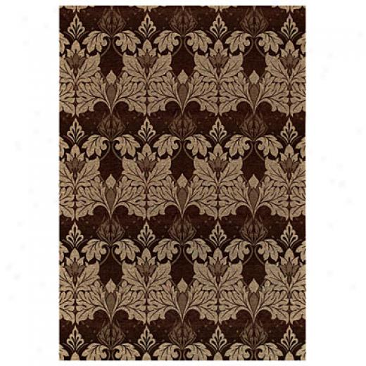 Capel Rugs Sweet William 5 X 8 Cocoa Area Rugs