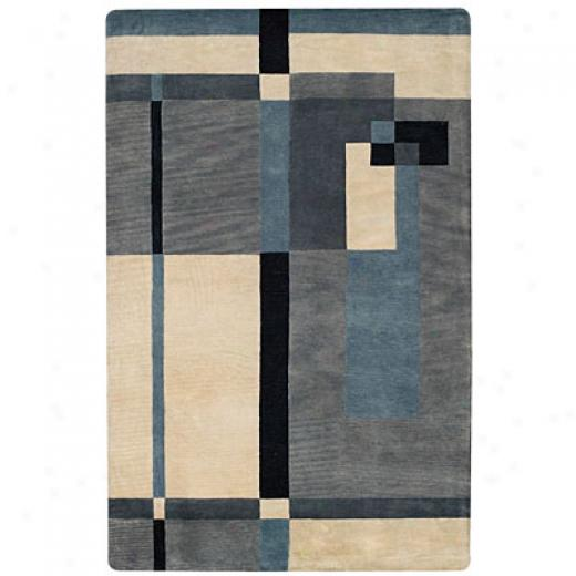Capel Rugs Tempo 2 X 3 Blueice Area Rugs