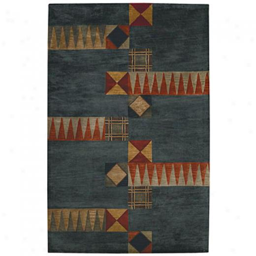 Capel Rugs Tempo 8x11 Steel Area Rugs