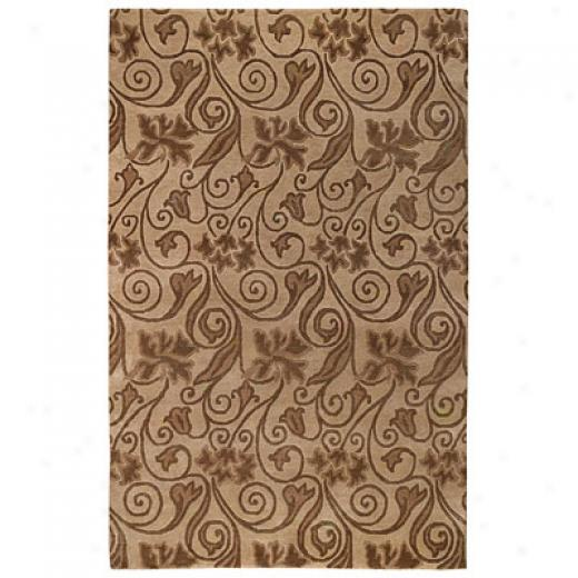 Capel Rugs Tibetan Treasures 5 X 8 Taupe Area Rugs