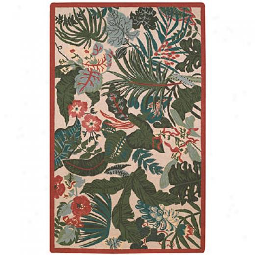 Capel Rugs Tropicale  3X 5 Leaves Area Rugs