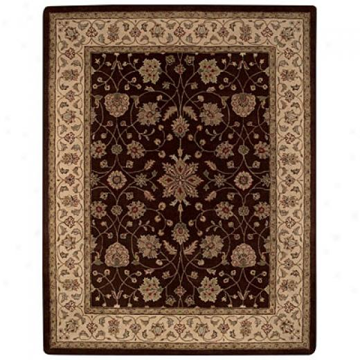 Capel Rugs Varuna - Ziegler 8 X 11 Chocolatecream Area Rugs