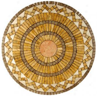 Caribe Stone Medallions - Travertine Capella Tile & Stone