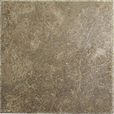 Caribe Stone Turkish Travertine Chiseled Edge 8 X 8 Walnut Tile & Stone