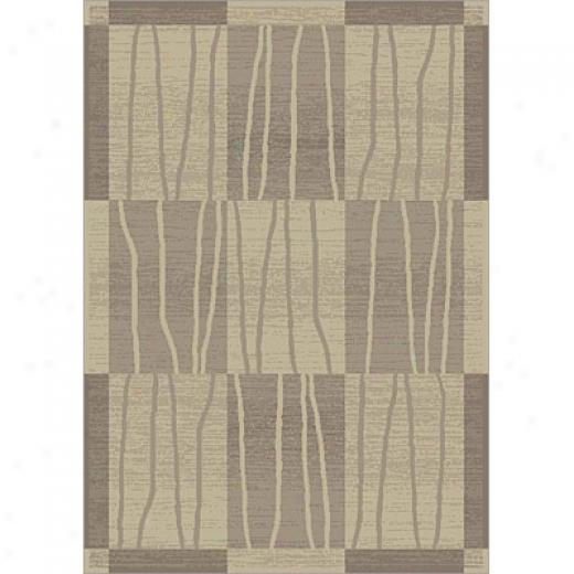 Carpet Art Deco Casual 2 X 3 Dallas/taupe-whisper Area Rugs