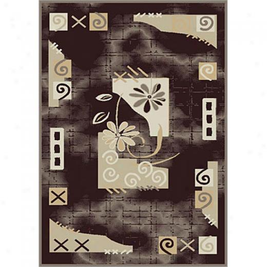 Carpet Art Deco Accidental 8 X 10 Trendy/whisper Area Rugs
