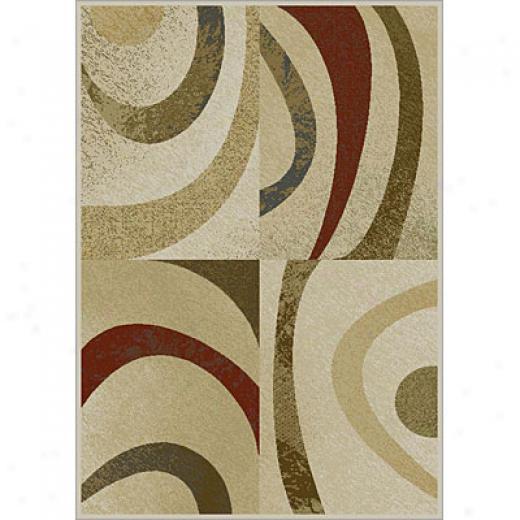 Carpet Art Deco Expressions Ii 2 X 3 Venus/zen Area Rugs