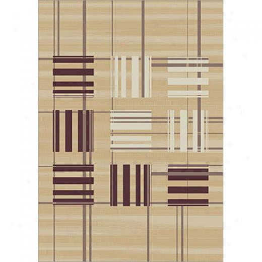 Carpet Art Deco Fantasy 8 X 10 Modena/camel Area Rugs