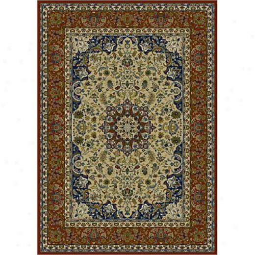 Carpet Art Deco Heritage 4 X 5 Nain/passion Area Rugs