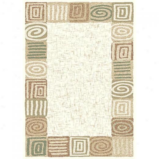 Carpet Art Deco Imagine 4 X 5 Spiral/shell Area Rugs