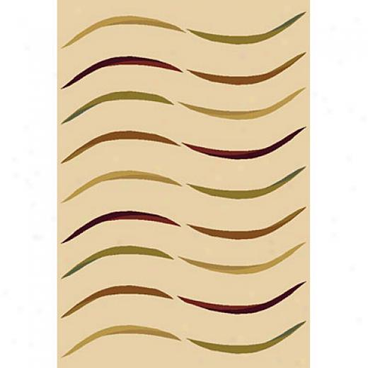 Carpet Arf Deco Infinity 5 X 8 Skin/sesame-cream Area Rugs