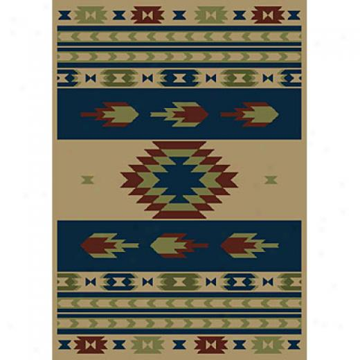 Carpet Art DecoL ife 2 X 3 Aztec/beige-blue Area Rugs