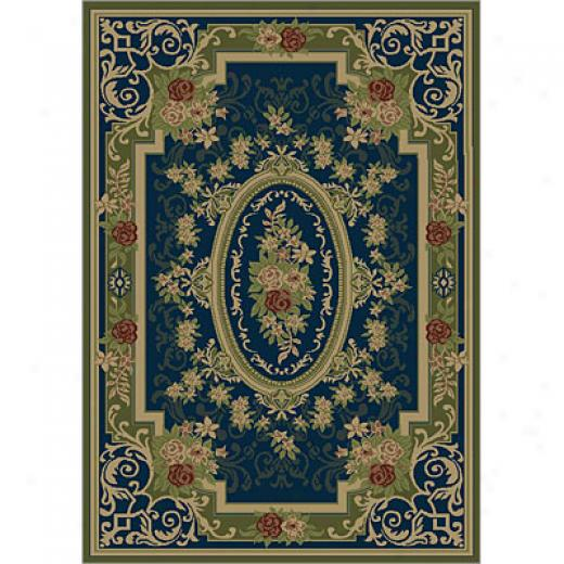 Carpet Art Deco Life 5 X 8 Marjolene/blue Area Rugs