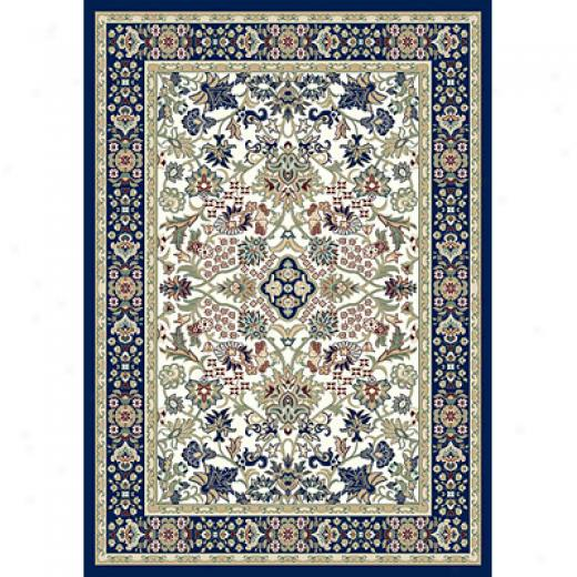 Carpet Art Deco Primavera 2 X 6 Goa/prussian-blue Shell Area Rugs