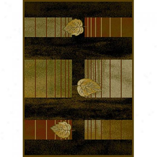 Carpet Art Deco Serenity 8 X 10 Trellias/choco Area Rugs