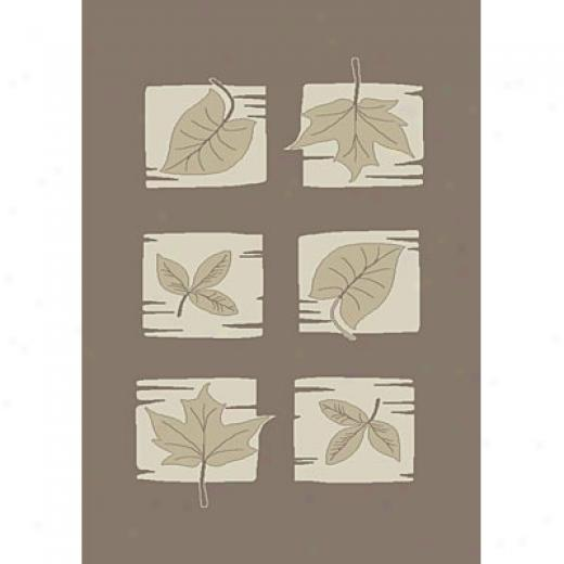 Carpet Art Deco Soft 8 X 10 Passion/taupe-whisper Superficial contents Rugs