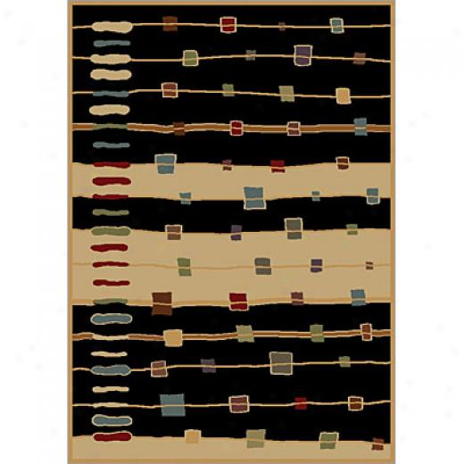 Carpet Art Deco Soul 2 X 7 Gamma/black Area Rugs