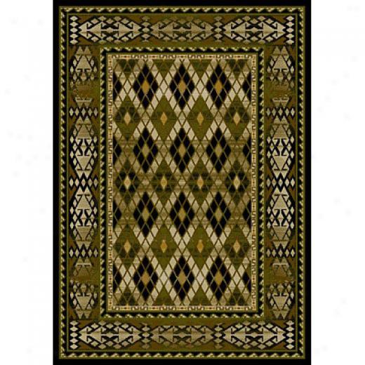 Carpet Art eDco Southwestern Ii 5 X 8 South/midnight Area Rugs
