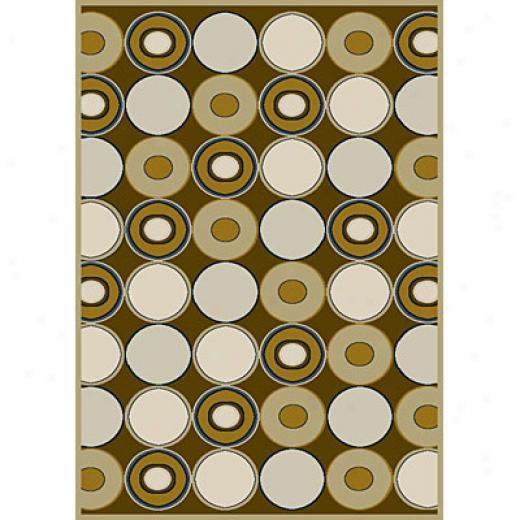 Carpet Art Deco Vision Ii 8 X 10 Latemy/pur Area Rugs