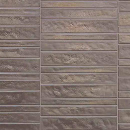 Casa Dolce Casa Vetro Neutra Listello Dritto Lux Tortora Tile & Stone
