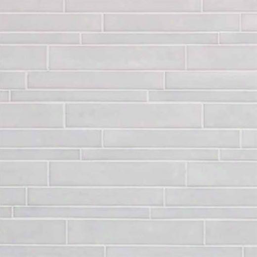 Casa Dolce Casa Vetro Neufra Listello Sfalsato Bianco Tile & Stone