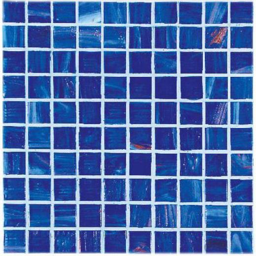 Casa Italia Bronze/gold Monocolor Mosaic Blue Bronzo Tile & Stone