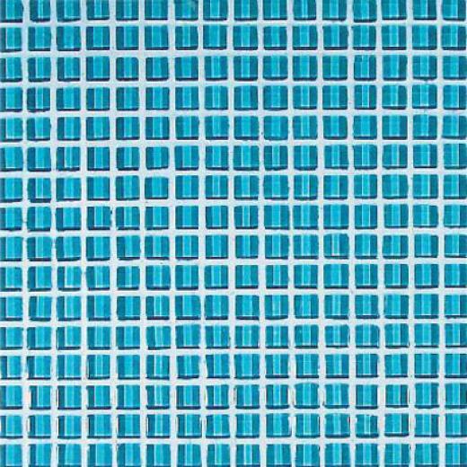 Casa Italia Crystal-a Trasparenze Monocolor Mosaic Light Blue Tile & Stone