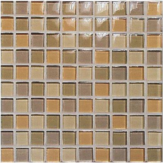 Casa Italia Crystal-c Trasparenze Glossy 4 X 4 White Tile & Stone