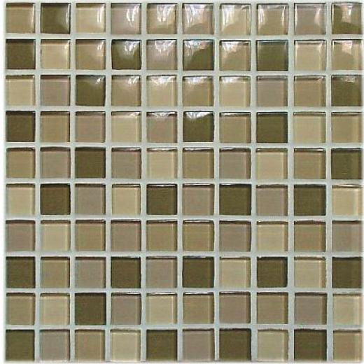 Casa Italia Crystal-c Trasparenze Glossy Mosaic Forest Tile & Stone