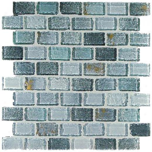 Casa Italia Fashion Mix Mosaic 1 X 2 Grigio Tile & Stone