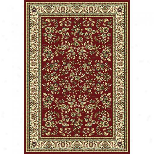 Central Oriental Inspirations - Sofia 7 X 11 Sofia Red Area Rugs